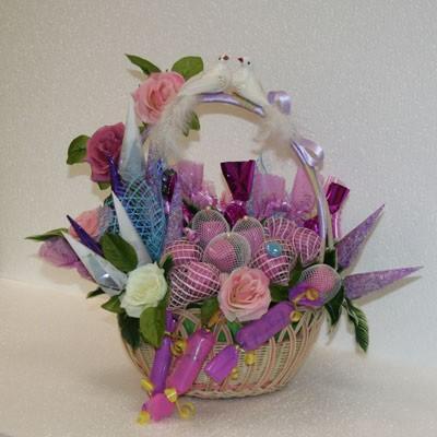 Цветы Гранд Флора GF-bkm00128 букет из конфет вдвоем