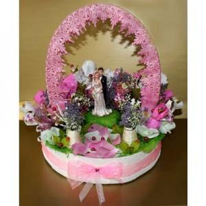 Букет из конфет «Давай поженимся»