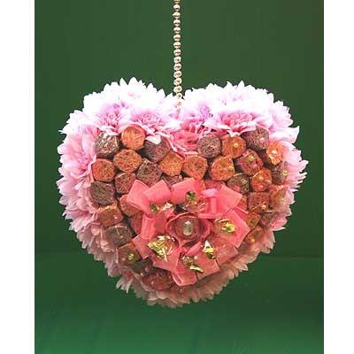 Купить Букет Из Конфет «Сердечко»