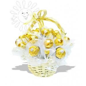 Моему ангелочкуДоставка букетов из конфет возможна при оформлении заказа не ранее чем за 2  (два) рабочих дня до планируемой даты доставки.<br> <br> <br><br>...<br>