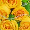 Букет желтых роз