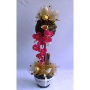 ОрхидеяДоставка букетов из конфет возможна при оформлении заказа не ранее чем за 2 (два) рабочих дня до планируемой даты доставки.<br><br><br>...<br>