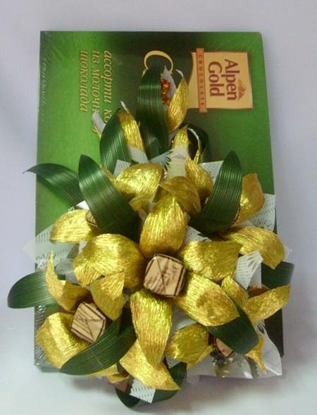 Декор с коробкой конфет №6