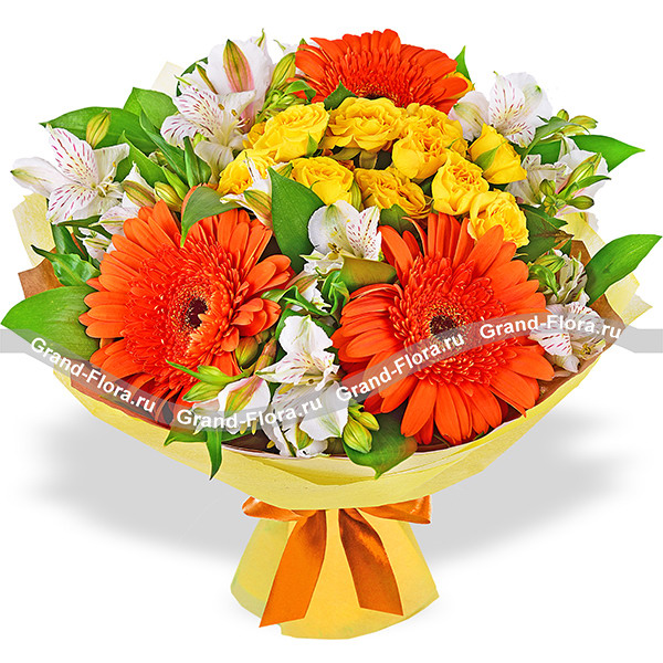 Buy a bouquet of flowers I am always with you! - a bouquet of roses ...