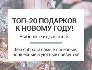 ТОП 20 подарков на Новый Год